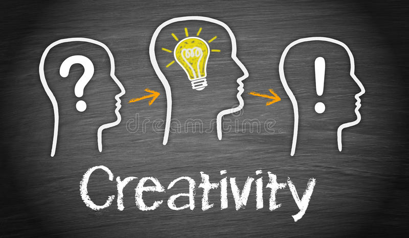 Business creativity concept stock images