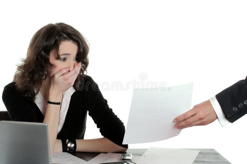 Business crisis royalty free stock image
