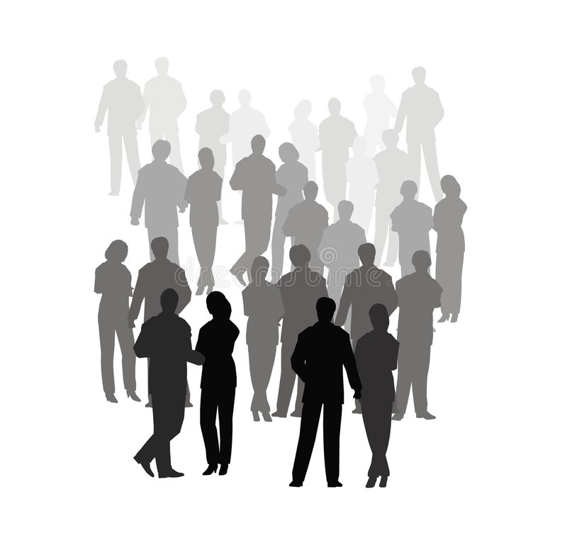 Business Crowd Stock Images