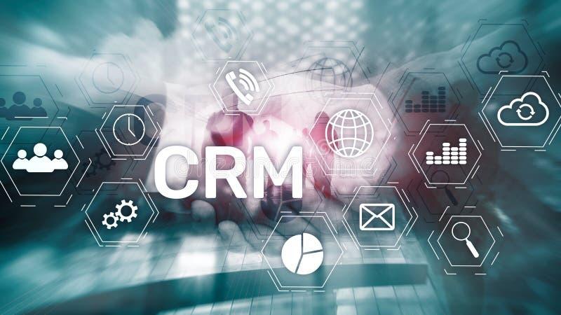 Business Customer CRM Management Analysis Service Concept. Relationship Management. vector illustration