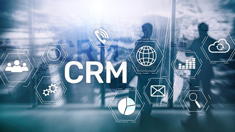 Business Customer CRM Management Analysis Service Concept. Relationship Management stock images