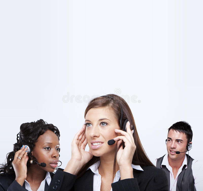 Download Business Customer Service Representatives Stock Image - Image of mail, call: 12827887