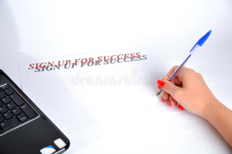 Business day success day royalty free stock photos