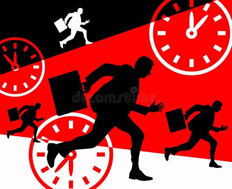 Business deadlines vector illustration