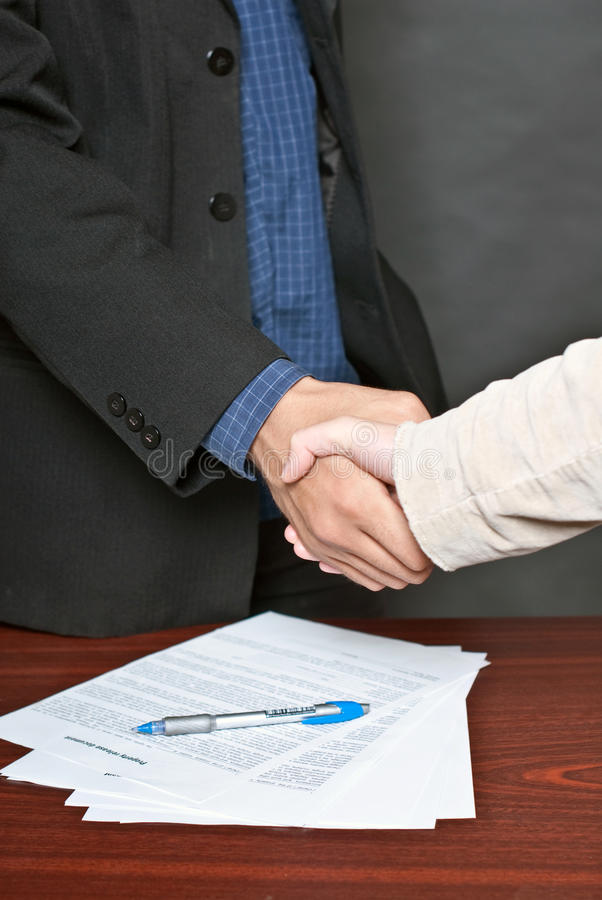 Download Business Deal. Stock Images - Image: 16520634