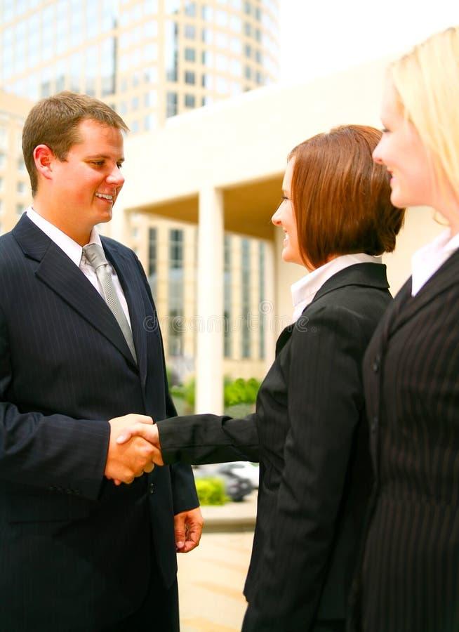 business deal στοκ φωτογραφία