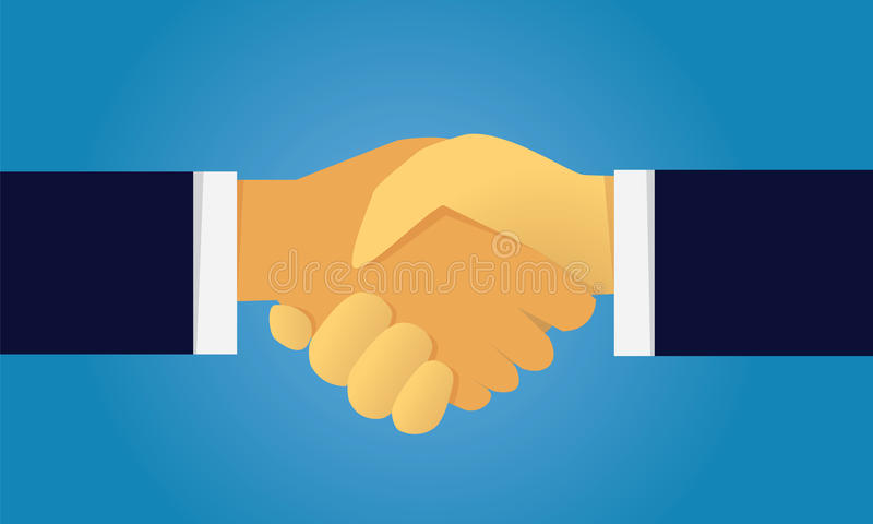 Business Deal Agreement Partnership Concept Stock Vector