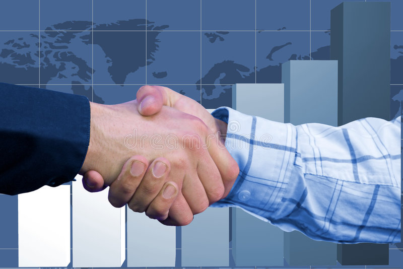 Download Business Deal - Column Chart Stock Image - Image: 203853