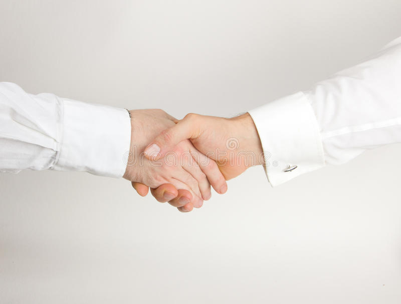 Business deal handshake royalty free stock photo