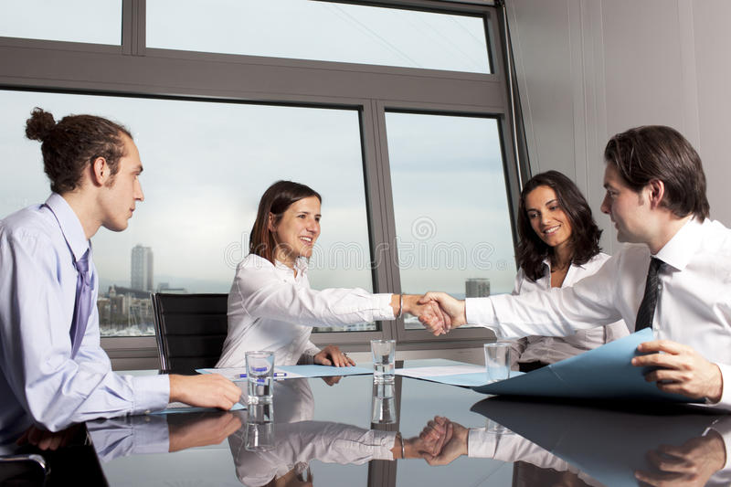 Download Business Deal Between Lawyers Stock Image - Image: 23400079