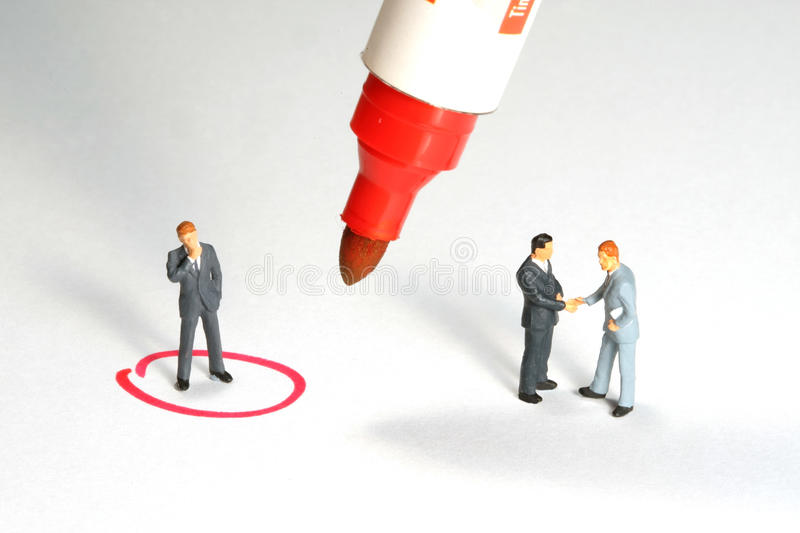 Download Business deal Metaphor stock photo. Image of employer - 12299198