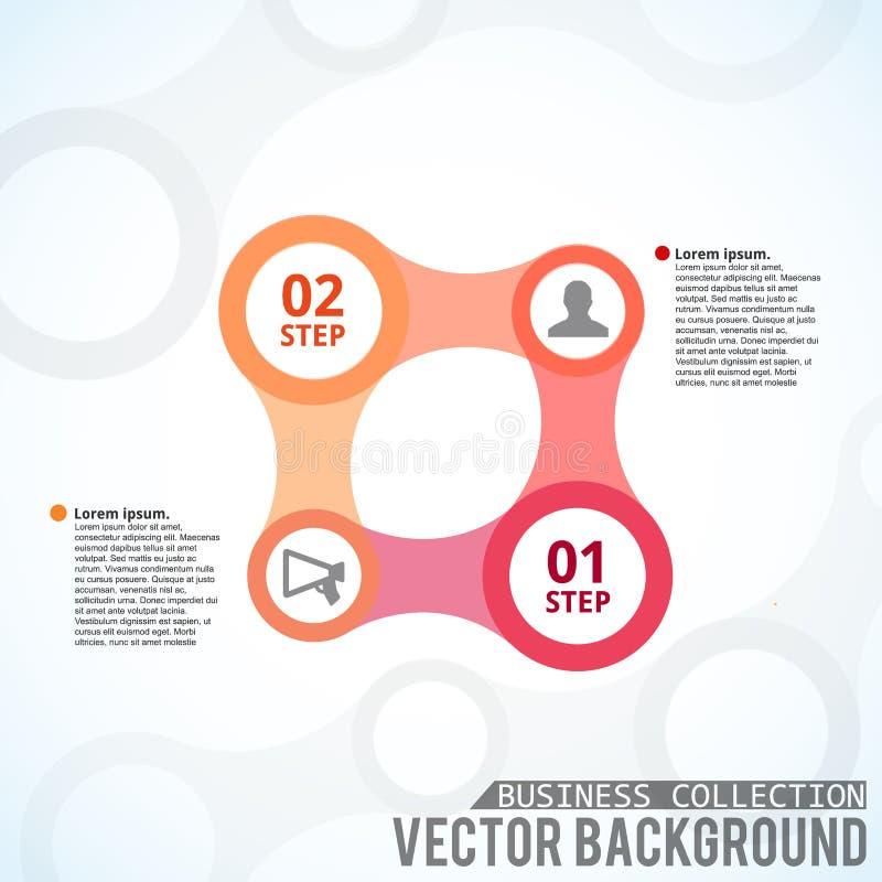 Business design concept. Background. Vector Illustration, eps10, contains transparencies. Illustartion of Business design concept icons place for text stock illustration