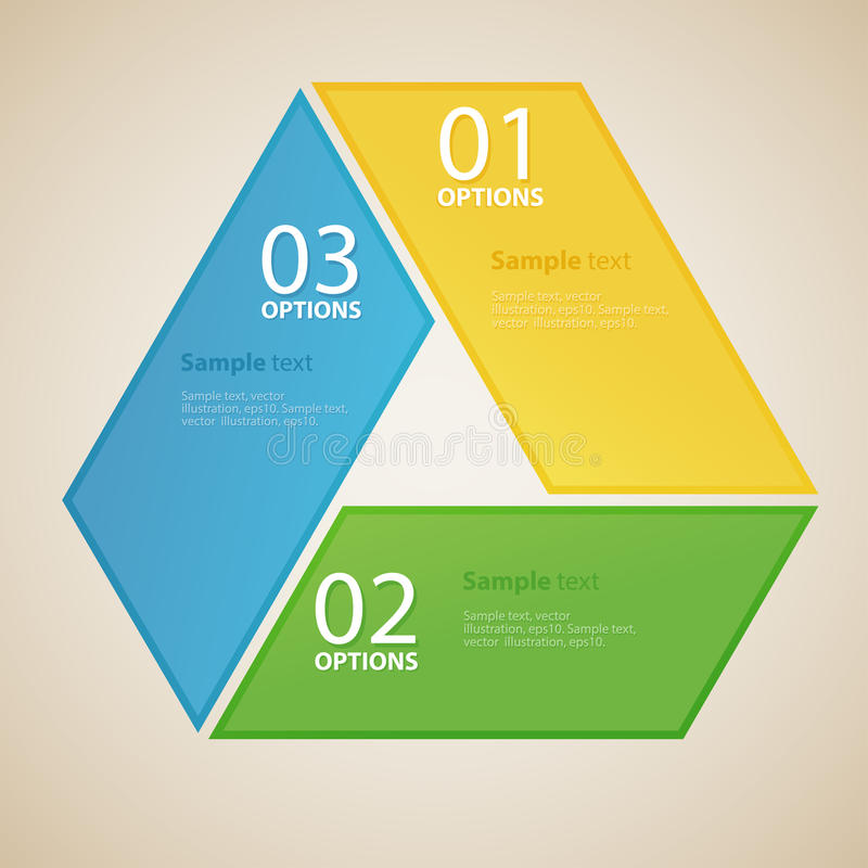 Business design template. concept business web royalty free illustration