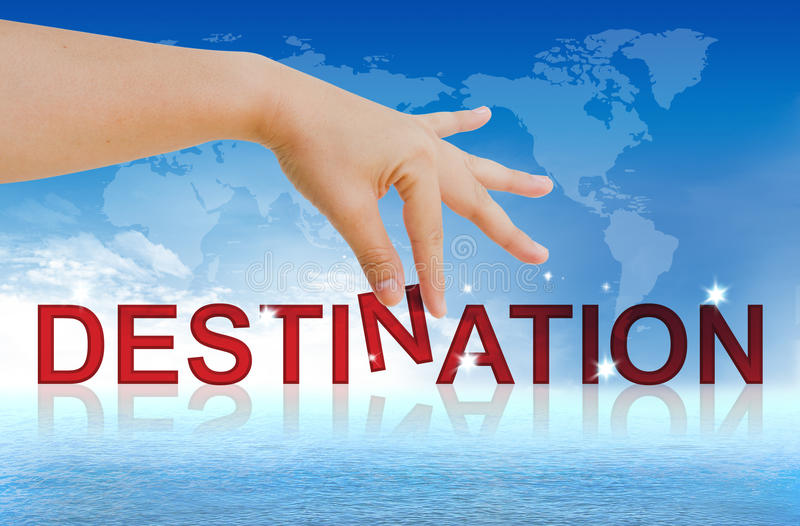 Business Destination vector illustration