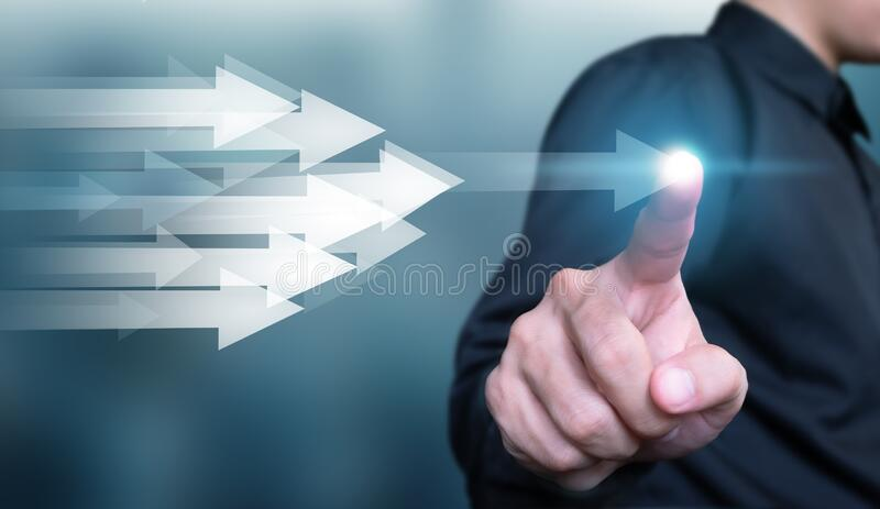 Business development to success and fast growing business concept, business growth concept , finance concept stock photo