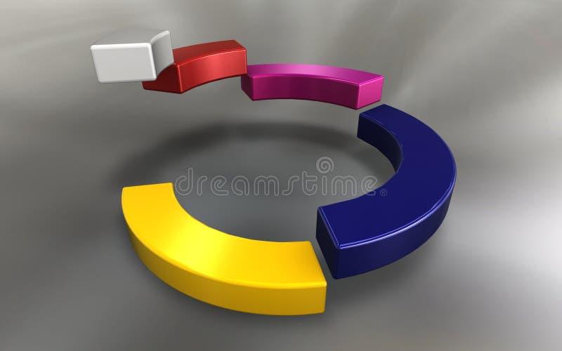 Download Business diagram stock illustration. Image of design - 16724950
