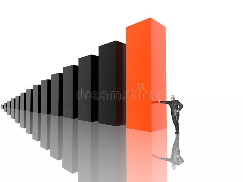 Download Business diagram stock illustration. Image of best, percentage - 2315359