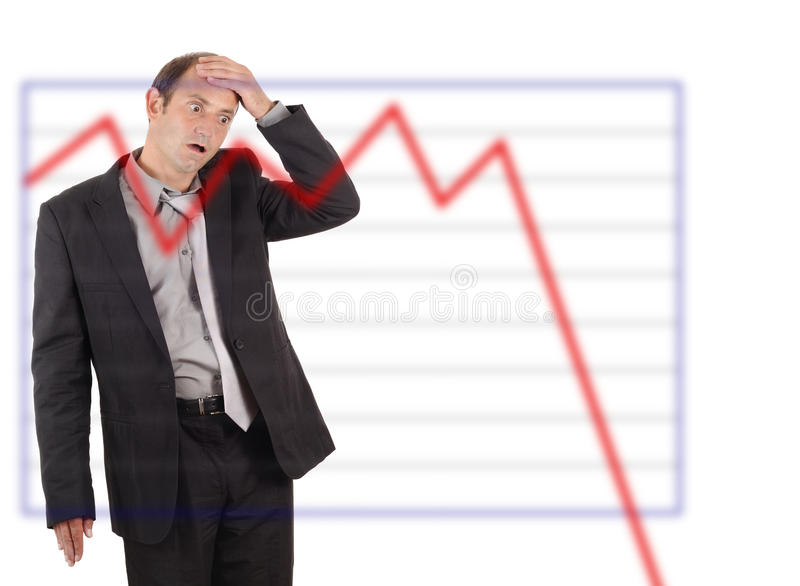 Download Business disaster stock illustration. Image of disaster - 11054365
