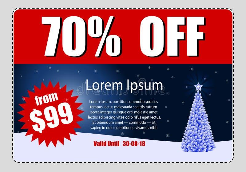 Business discount coupon stock photo