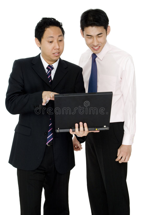 Business Discussion royalty free stock image