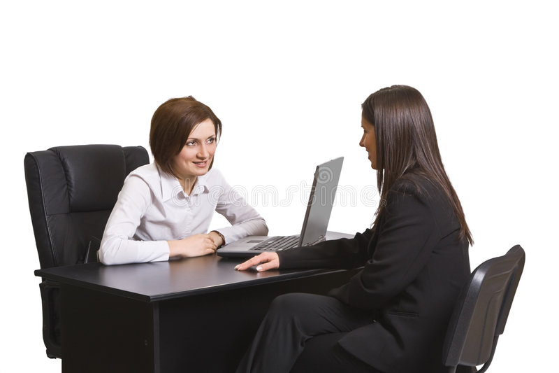 Download Business discussion stock photo. Image of businesspeople - 7460886