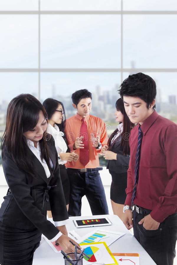 Download Business Discussion Portrait Stock Image - Image: 29508625