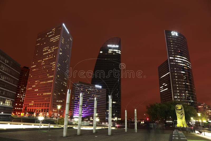 Business district stock images
