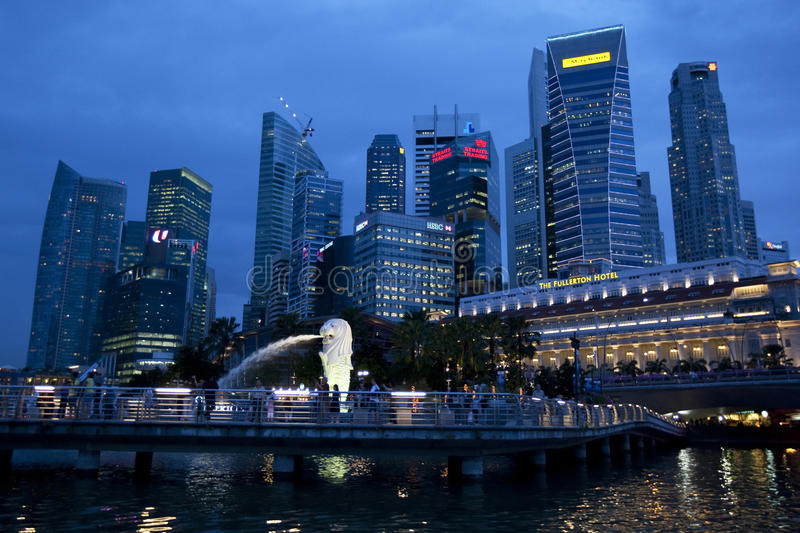 Download Business District, Singapore Editorial Image - Image: 17392860