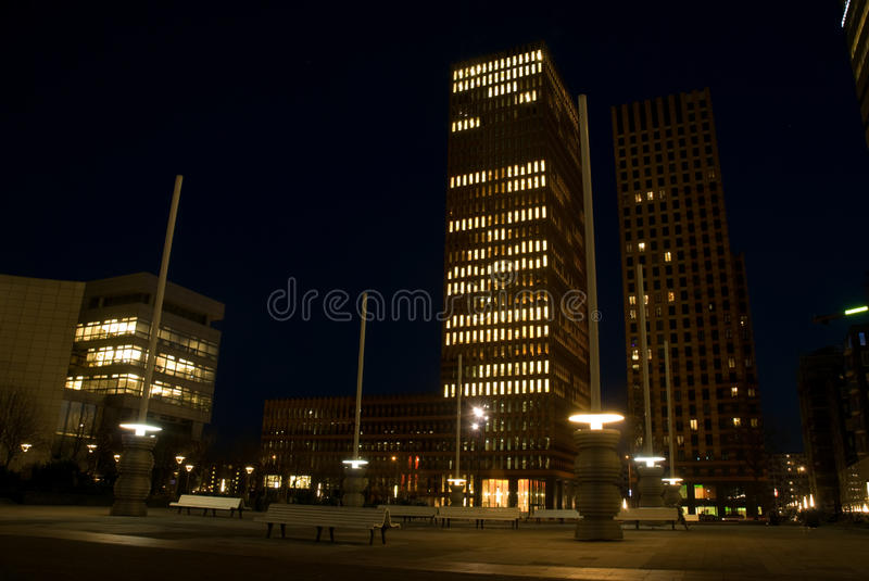 Business district, South Axis, Amsterdam royalty free stock photo