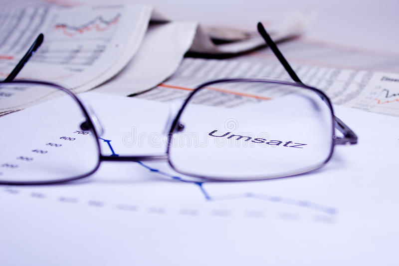 Business Documents Stock Photo