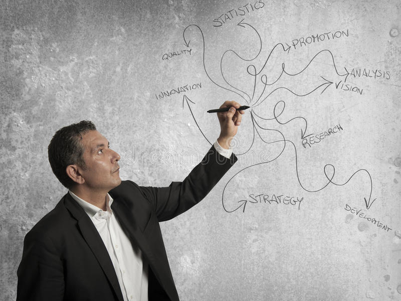 Download Business  draw stock image. Image of businessman, note - 27940695