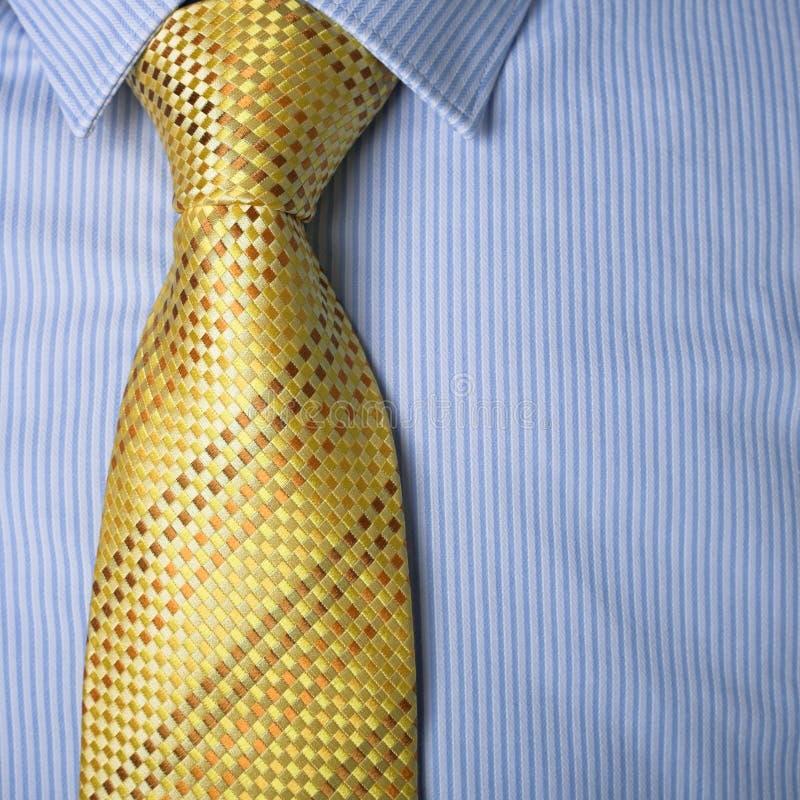 Business dress - shirt & tie stock image