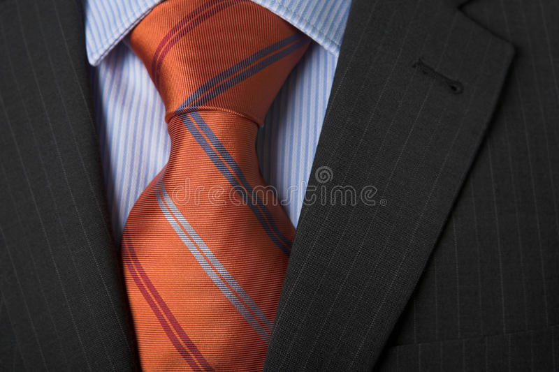 Business dress - shirt & tie royalty free stock images