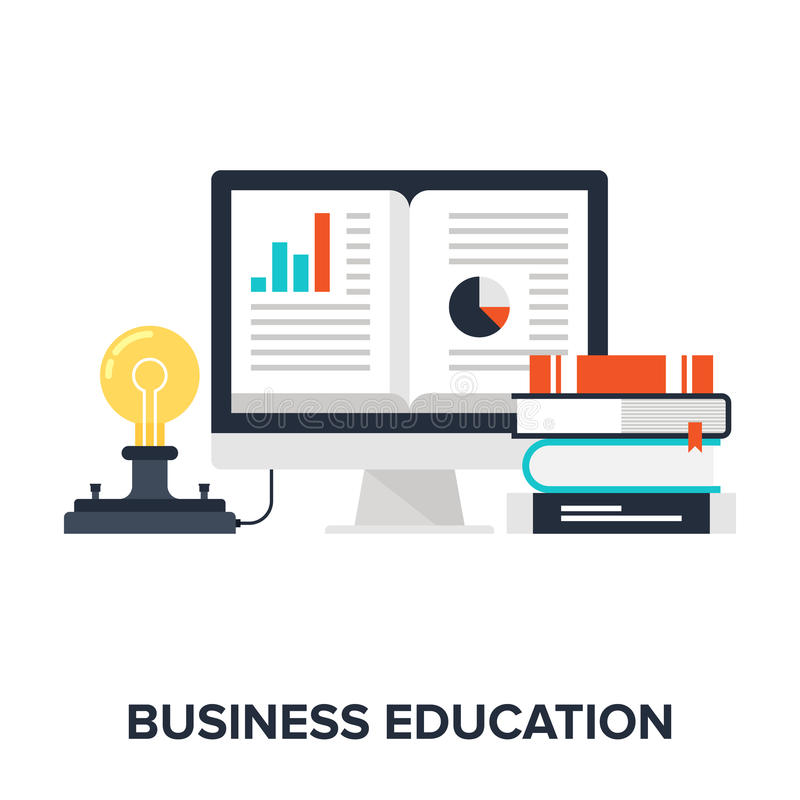 Business Education stock illustration