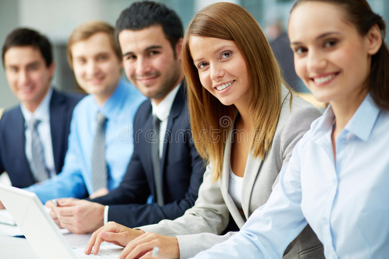 Download Business education stock image. Image of looking, workers - 32734529
