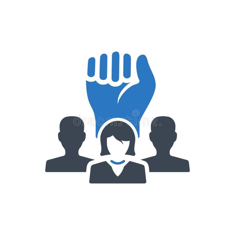 Business efficient team icon vector illustration