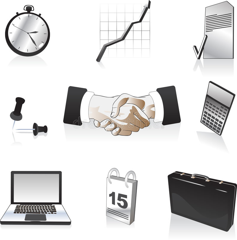 Download Business Elements stock vector. Image of different, designs - 6844877