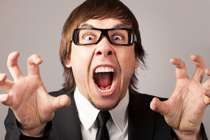 Download Business emotions - Anger stock photo. Image of expressing - 23804614