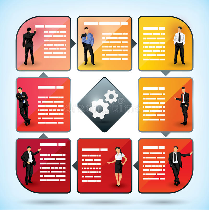 Download Business Employee Presentation Chart Stock Vector - Image: 27643539