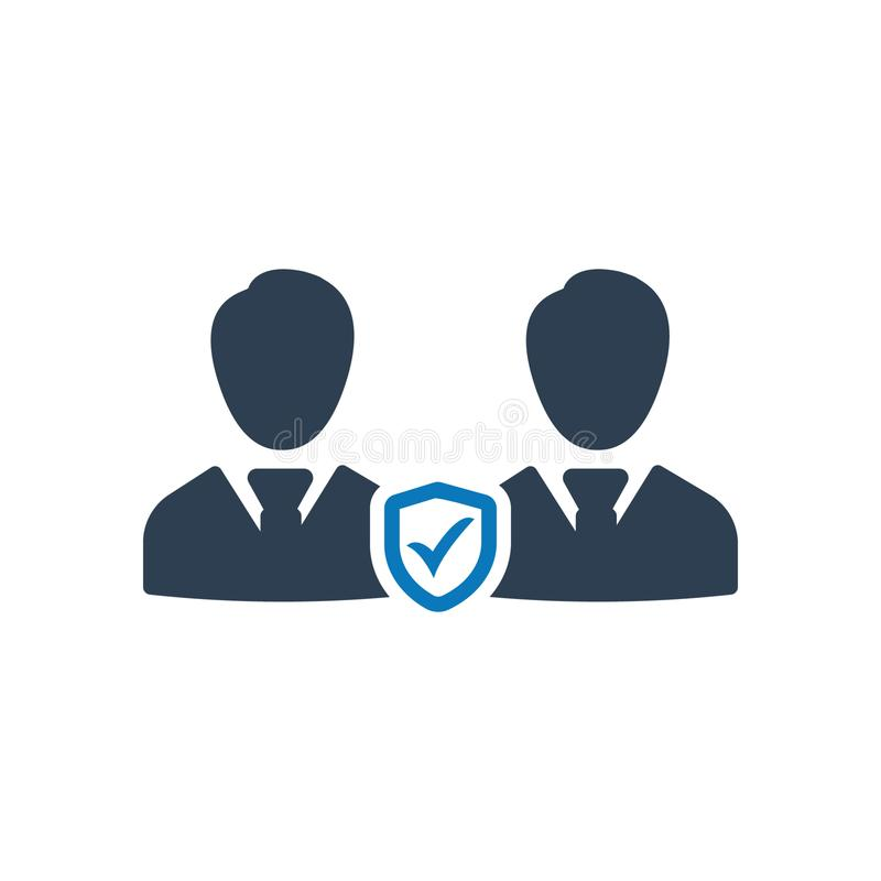 Business employees security icon. Beautiful, Meticulously Business Icon use for any kind of web and print design stock illustration