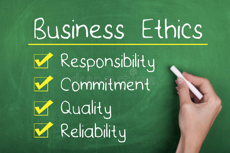 Business Ethics stock photography