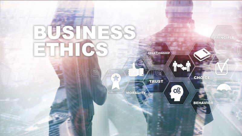 Business Ethnics Philosophy Responsibility Honesty Concept. Mixed media background. Business Ethnics Philosophy Responsibility Honesty Concept. Mixed media stock photography