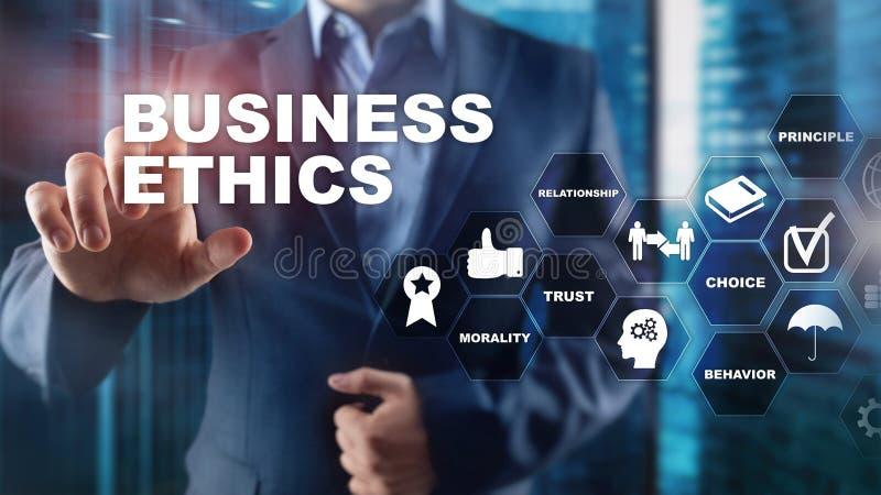 Business Ethnics Philosophy Responsibility Honesty Concept. Mixed media background. Business Ethnics Philosophy Responsibility Honesty Concept. Mixed media stock photo
