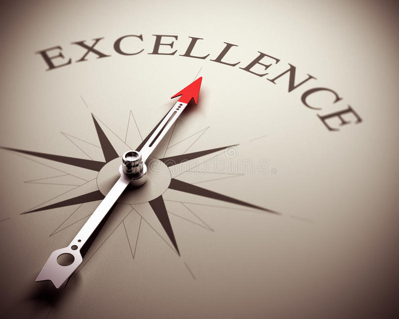 Business Excellence Concept royalty free illustration