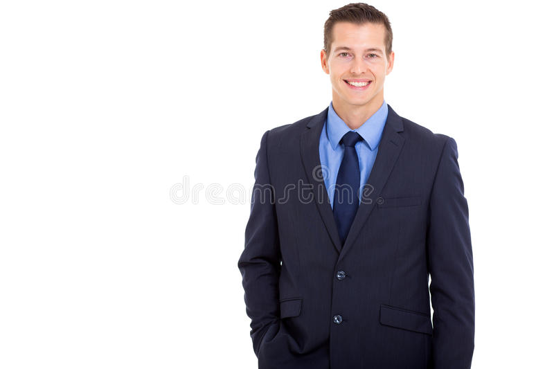 Business executive portrait stock photo
