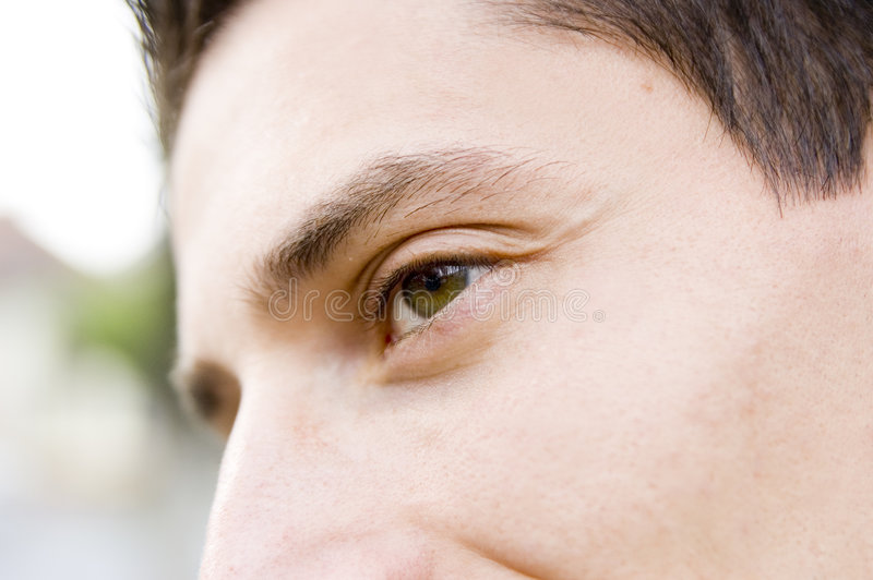 Business eye stock photo
