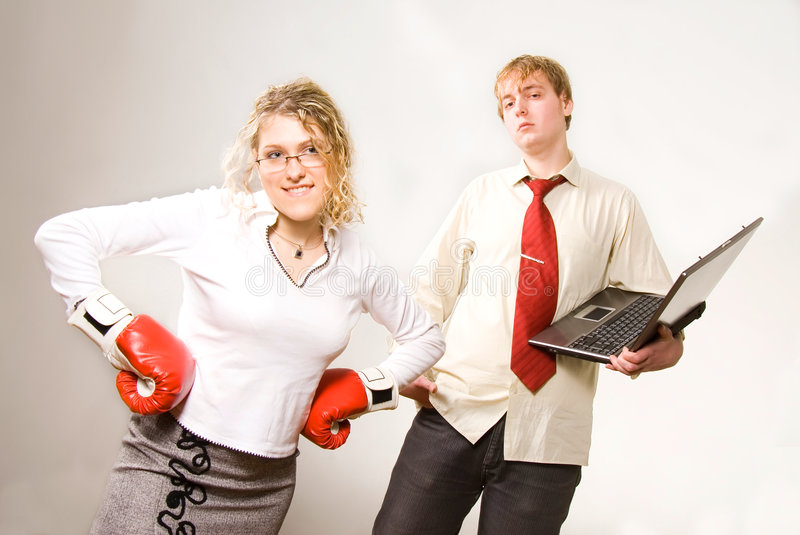Download Business fight stock image. Image of people, competitive - 1885713