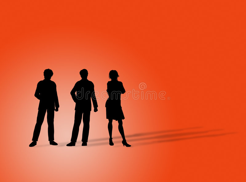 Business Figures Royalty Free Stock Images