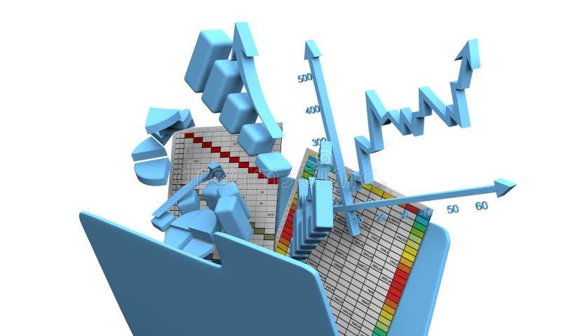 Business finance chart, diagram, bar, graphic vector illustration