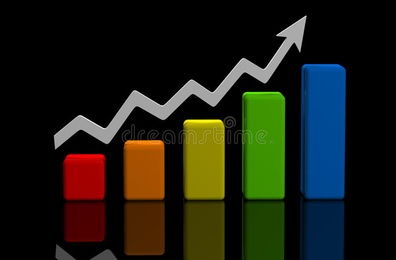 Business finance image vector illustration